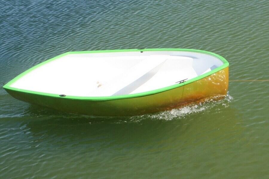 GFK Boot, GFK Ruderboot, GFK Bootsbau