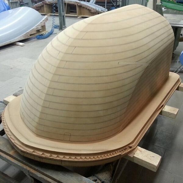 CNC Modelle aus MDF, CNC Modelle gefräst aus MDF