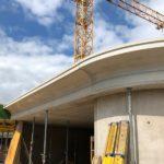 GFK Betonschalung, Fassadenbau, Gesimse aus GFK